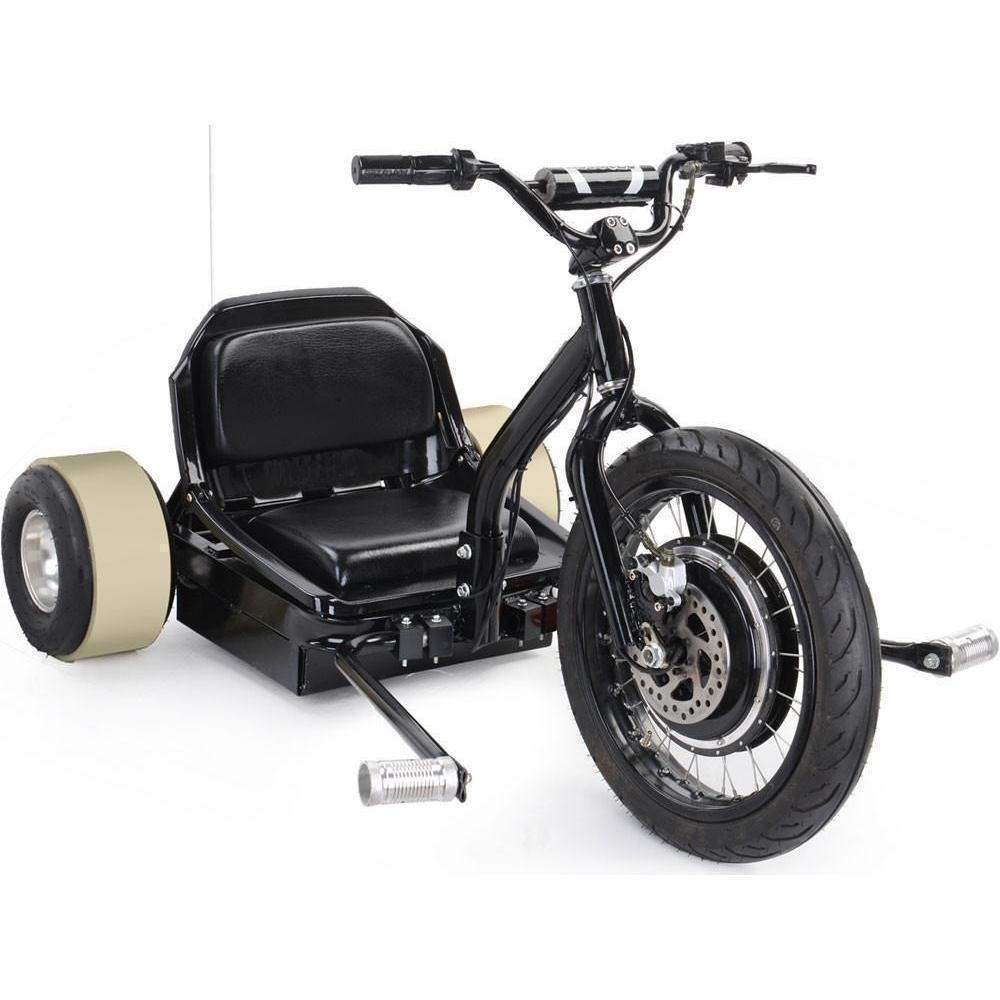 MotoTec Drifter 48v 500w Electric Powered 3 Wheel Trike - Electric Scooter Ridetique.com