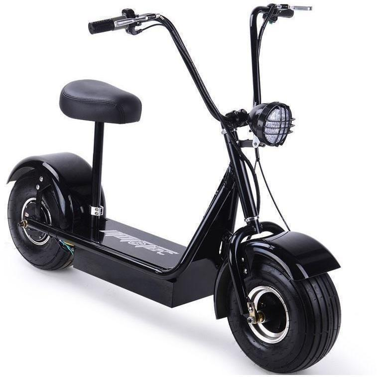 MotoTec FatBoy 48v 500w Electric Powered Scooter - Electric Scooter Ridetique.com