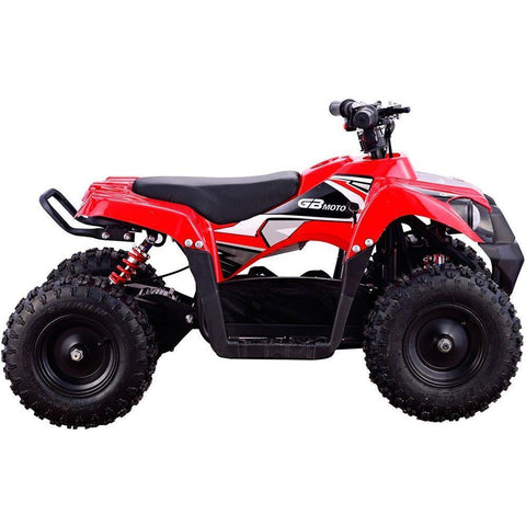 MotoTec Monster V6 36V 500w Kids Mini Quad Electric All-Terrain ATV Vehicle - Electric Mini Quad Ridetique.com