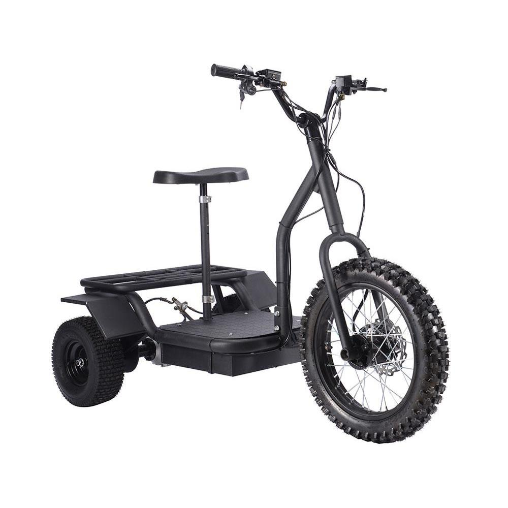 MotoTec Personal Transporter 48v 1200w Electric Powered Trike - Electric Trike Ridetique.com