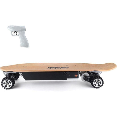 MotoTec Street 36v 600w Electric Powered Skateboard - Electric Skateboard Ridetique.com