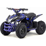 MotoTec Titan V5 24v 350w Electric Powered Mini Quad - Electric Mini Quad Blue Ridetique.com