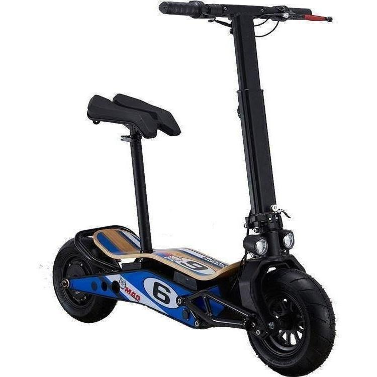 MotoTec Velocifero MiniMad 36v 800w Electric Powered Scooter - Electric Scooter Ridetique.com