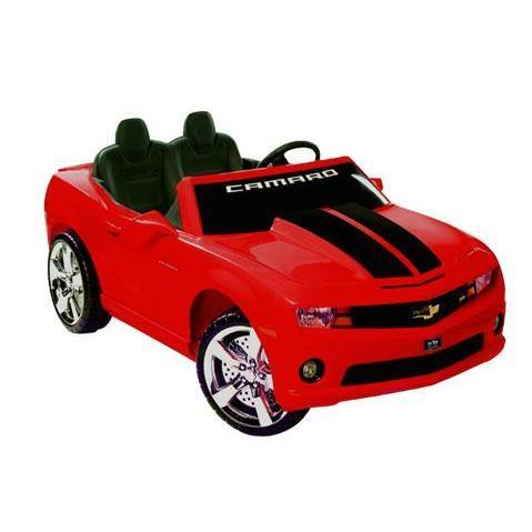 NPL Kids Chevrolet Racing Camaro 12v Electric Car - Ride On Toys Red Ridetique.com