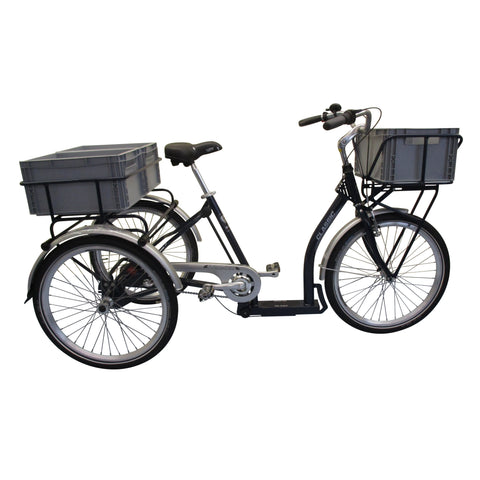PFIFF Classic Nexus 3 24 Inch Blue Transportation Tricycle - Trike Ridetique.com