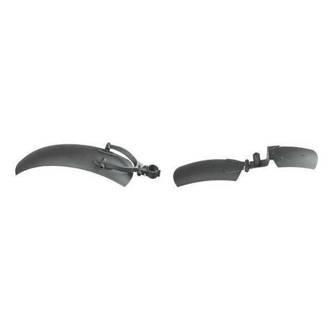 QuietKat 5-inch Front & Rear Fenders For 750w-1000w FatKat Electric Mountain E-Bikes - Bicycle Accessories Ridetique.com