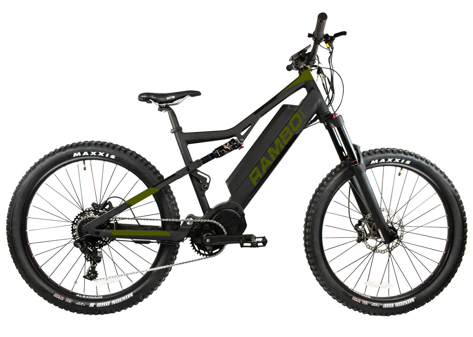 RAMBO RAMPAGE 1000W XTREME PERFORMANCE FULL SUSPENSION - Electric Bike Ridetique.com
