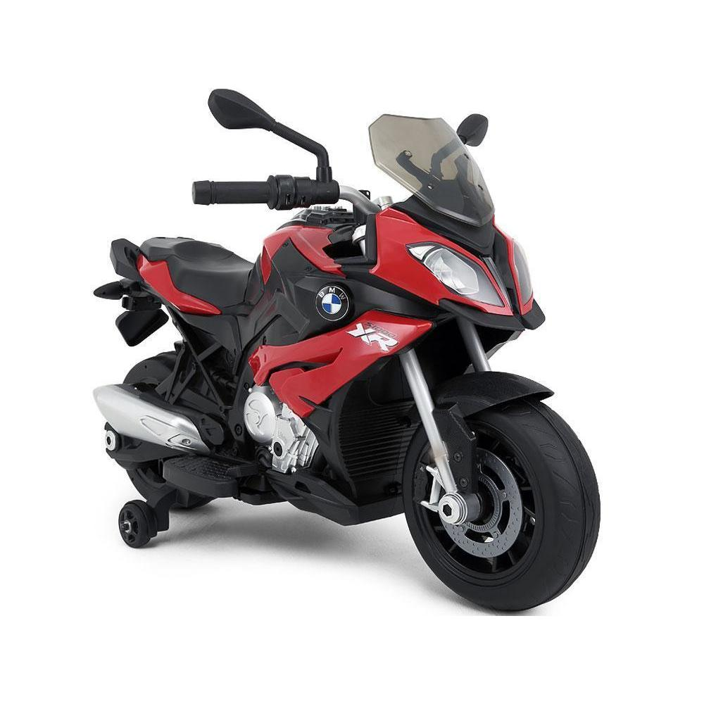 Rastar BMW S1000XR 12v Kids Electric Motorcycle - Ride On Toys Red Ridetique.com