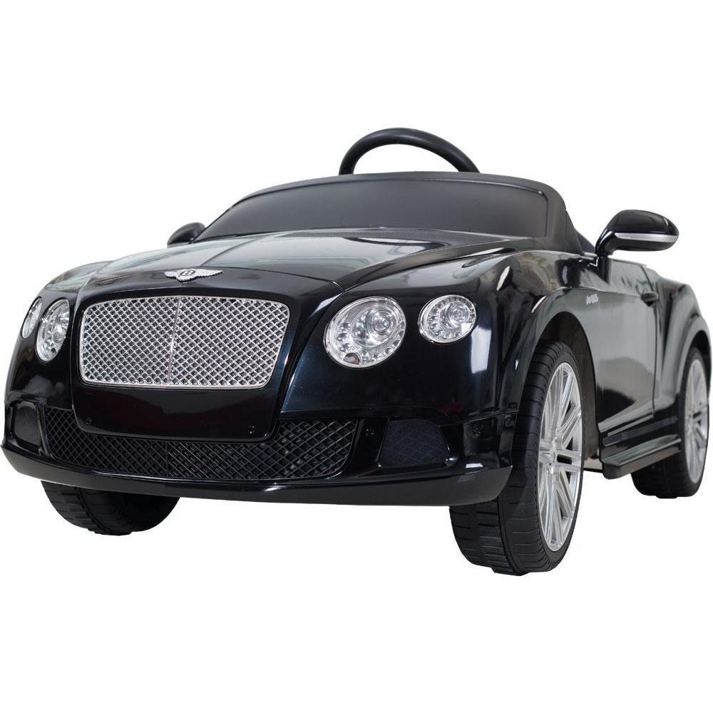 Rastar Rastar Bentley GTC 12v Kids Electric Car in White - Remote Controlled - Ride On Toys Black Ridetique.com