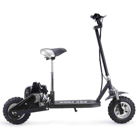 Say Yeah 49cc Black Gas Scooter - Gas Scooter Ridetique.com