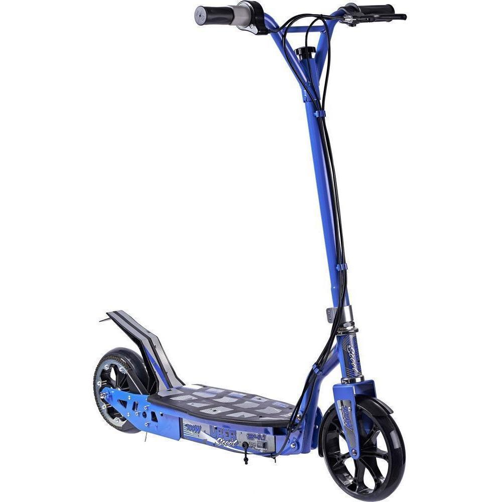 UberScoot 24v 100w Electric Powered Scooter by Evo Powerboards - Electric Scooter Blue Ridetique.com