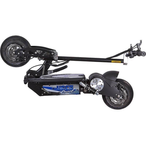 UberScoot 36v 1000w Electric Powered Folding Scooter by Evo Powerboards - Electric Scooter Ridetique.com