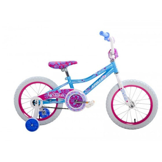 "Apollo Heartbreaker 16"" Kids Bike for Girls - Kids Bicycle Teal Ridetique.com"