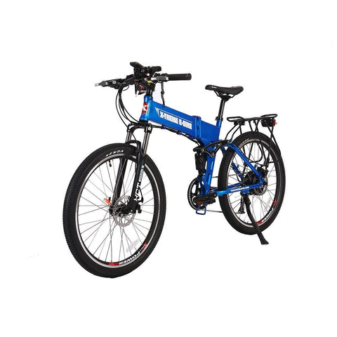 X-Treme Baja 48v 26-Inch Folding Electric Mountain Bicycle - Electric Bike Ridetique.com