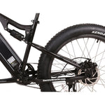 X-Treme Rocky Road 48v 26-Inch Black Fat Tire Electric Mountain eBike - Electric Bike Ridetique.com