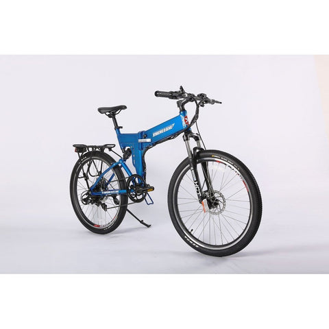 X-Treme X-Cursion Elite Max 36v 300w Electric Folding Mountain Bicycle - Electric Scooter Ridetique.com