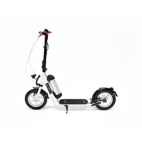 Zumaround miniZum Electric Push Scooter - Electric Scooter White Ridetique.com
