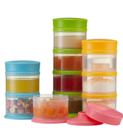 Twistable Snack Containers