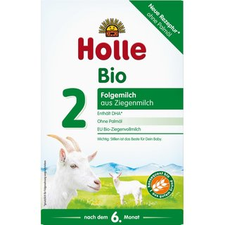 Holle Organic Infant Goat Milk Follow-on Formula 2 (12 boxes)
