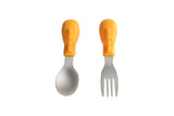 Palm Grasp Spoon & Fork Set