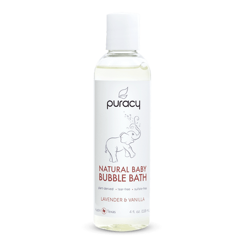 Natural Baby Bubble Bath - Lavender & Vanilla - 4oz