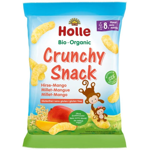 Holle Organic Crunchy Snack Millet-Mango (25g)