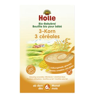 Holle Organic 3-Grain Porridge 250g