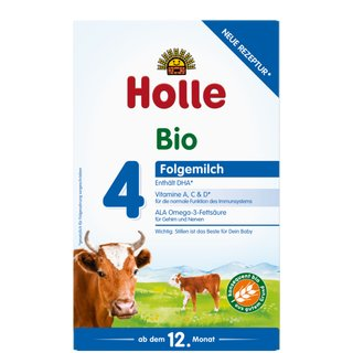 Holle Organic Grown-up Milk 4 (6 Boxes) - With DHA