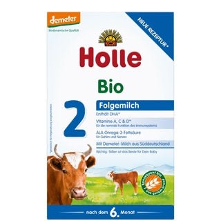 Holle Organic Infant Follow-on Formula 2 (6 boxes) - With DHA