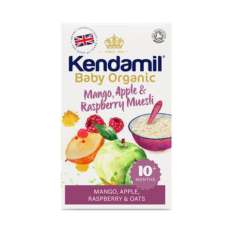 Kendamil Organic Mango, Apple and Raspberry Muesli