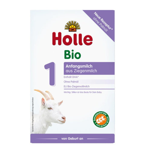Holle Organic Infant Goat Milk Formula 1 with DHA (6 boxes)