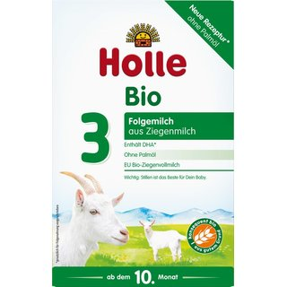 Holle Organic Infant Goat Milk Follow-on Formula 3 (12 boxes)