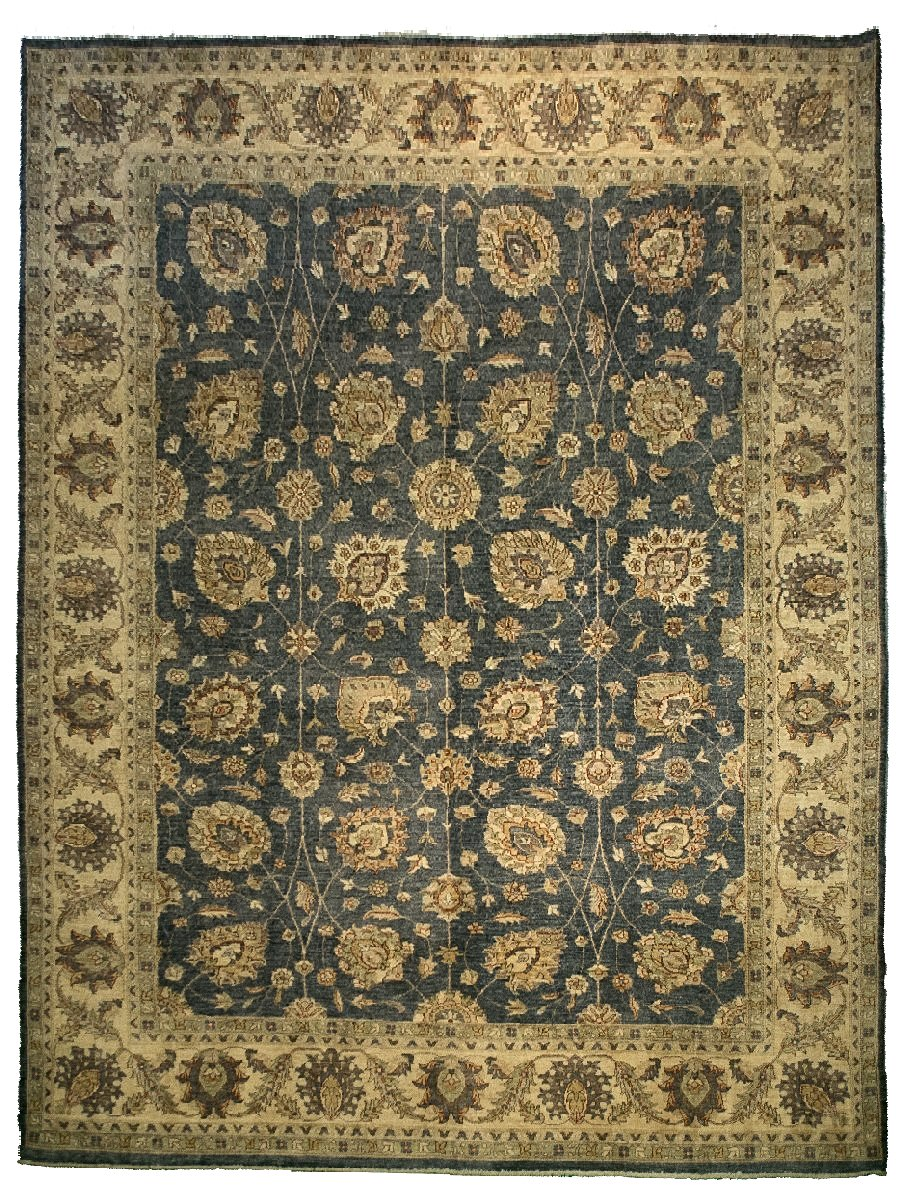Sultanabad Rug - Brown Field <br> 9' x 12'