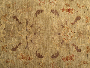 "Beige Sultanabad Rug <br> 9' x 11"" 10"