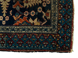 "Antique Persian Dorokhsh Rug <br> 8' 6"" x 11' 4"""