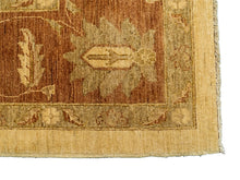 Sultanabad Rug - Beige Field, Orange Border <br> 9' x 12'