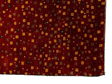 Modern Red Persian Gabbeh Rug <br> 9' x 12'