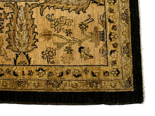 Sultanabad Area Rug, Black Field <br> 9' x 12'