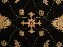 Sultanabad Rug, Black Field <br> 9' x 12'