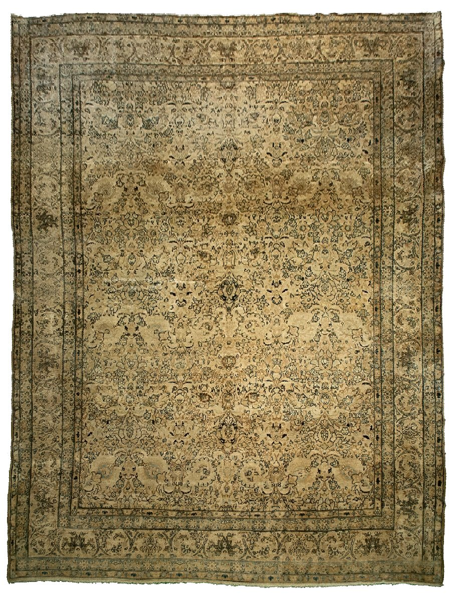 Antique Persian Kerman Rug <br> 8' 6