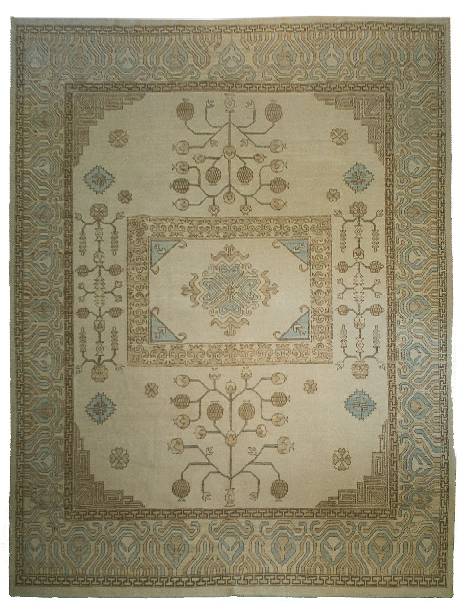 Tribal Heriz Rug 9' x 12'