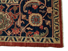 "Tribal Heriz Rug <br> 9' 3"" x 12' 7"""
