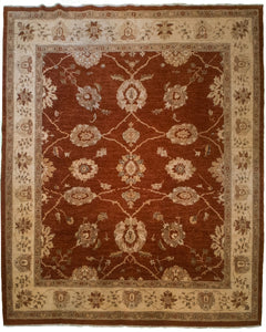 "Square Sultanabad Area Rug <br> 8' 2"" x 8' 10"""