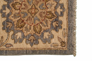 8' x 10' Oriental Sultanabad Rug - Light Blue - Los Altos Rug Gallery - 8070 - Corner