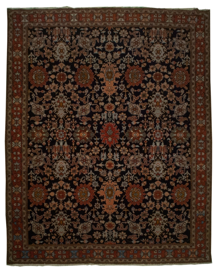 Turkish Heriz Rug <br> 7' 9