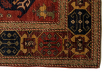 "Tribal Heriz Rug <br> 8' 1"" x 10'"