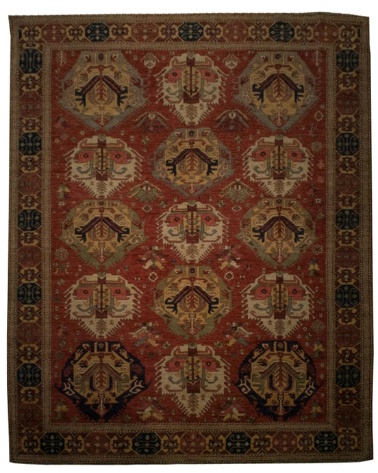 Tribal Heriz Rug <br> 8' 1