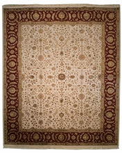 Silk Indian Agra Rug <br> 8' x 10'