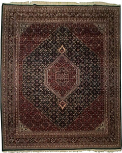 Indian Mahi Tabriz Oriental Carpet - Full