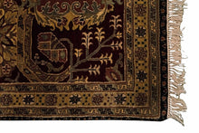8' x10' Indian Agra Carpet - Corner